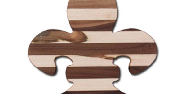 Medium Fleur-De-Lis Charcuterie / Cutting Board