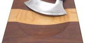 ULU Cutting Board and Knife