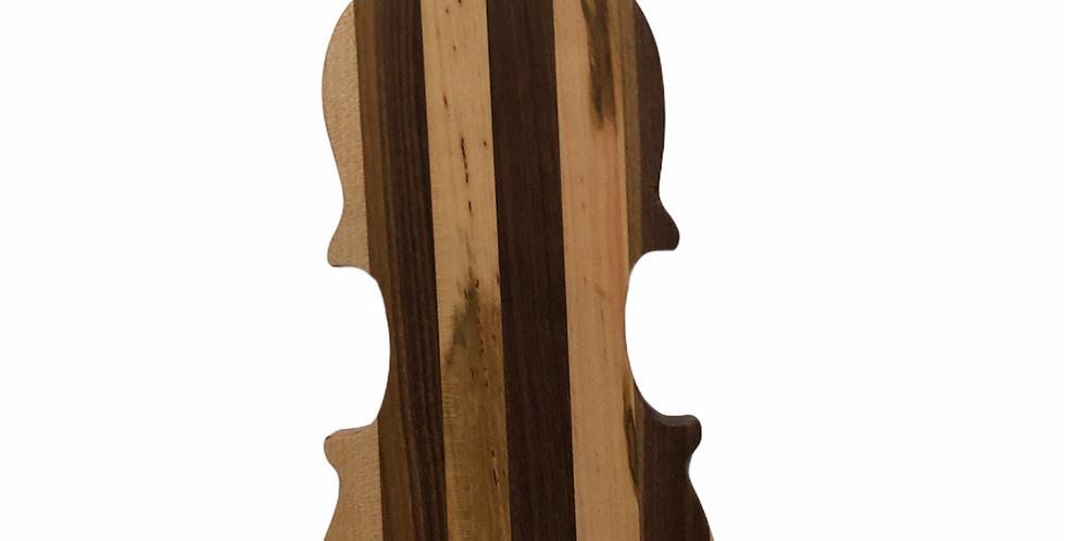 Large Violin Carchuterie / Cutting Board