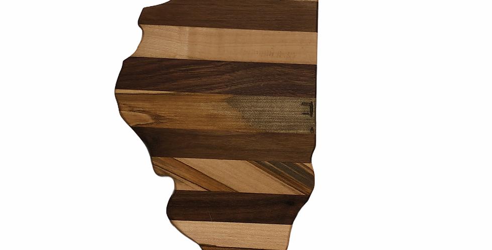 Medium Illinois Charcuterie / Cutting Board