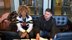 Jaydah Lashea signed by Fully Charged