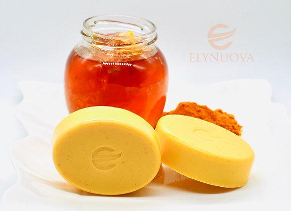 Turmeric & Honey Soap 100% Organic Hand Made
