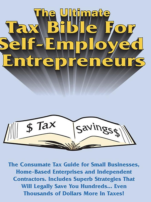 Brand New Ultimate Tax Bible Program