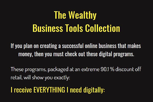 Business LLC, Tools and Support