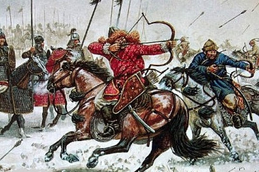 Genghis Khan and Muslim Holocast