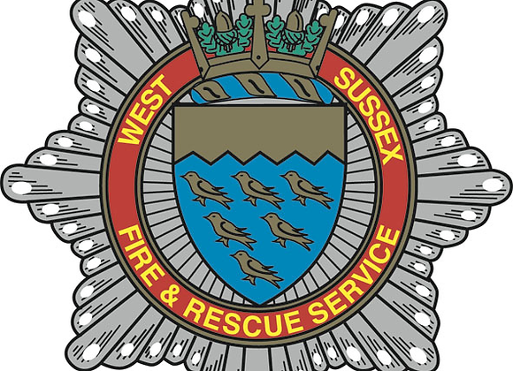 West Sussex Fire & Rescue Embroidered Hoodie
