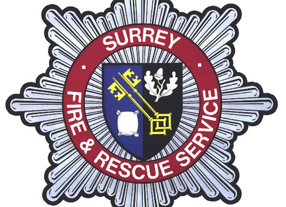 Surrey Fire & Rescue Embroidered Hoodie