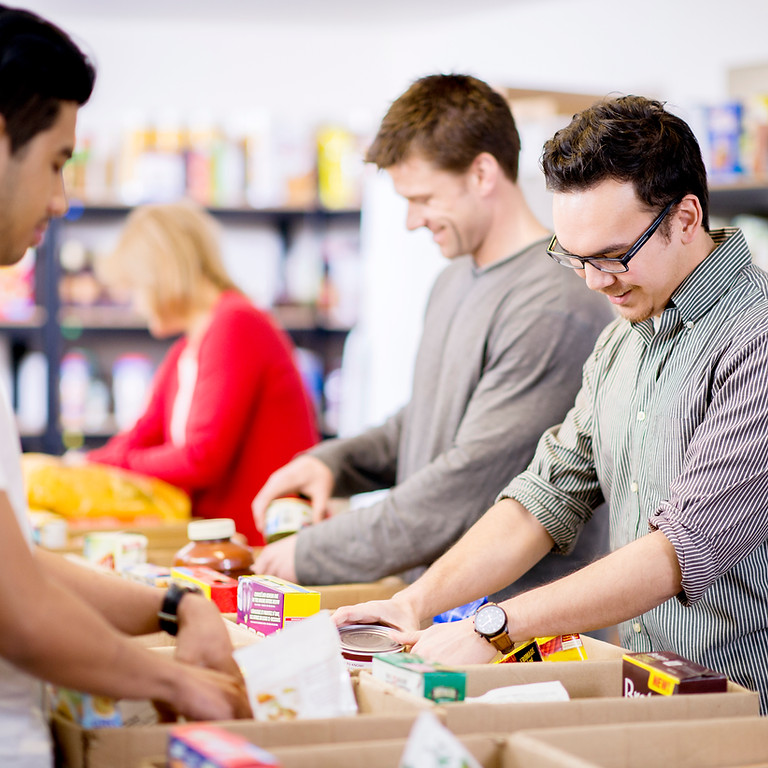 Bowl for Hunger's First Holiday Food Drive