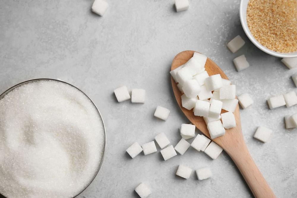 sucre poudre morceaux