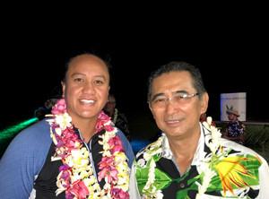 La Rarotonga Phillis Meti, 2 fois champi