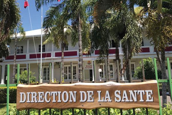 Bâtiment de la Direction de la santé à Tahiti