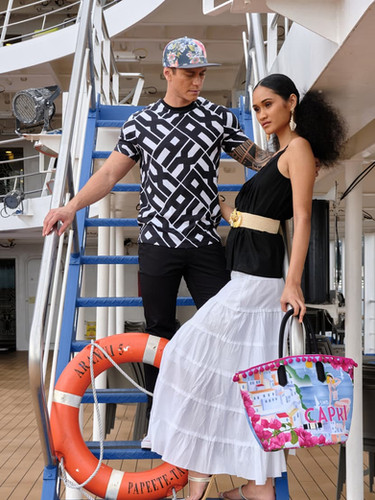Défilé mode sur l'Aranui