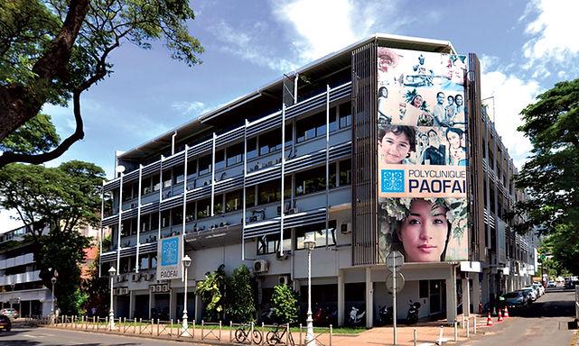 Clinique Paofai à Tahiti - Polynésie française