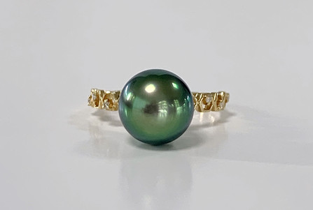 """Bague collection """"The one"""" - or jaune 18K"""