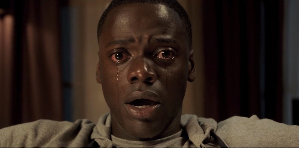Chris, played by Daniel Kaluuya