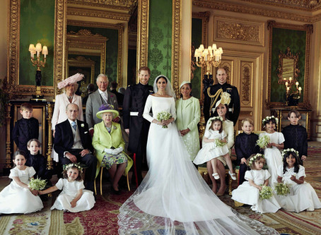 On the blackness of the royal wedding