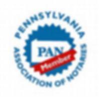 Notary Public, PAN Member, Pennsylvania Association of Notaries, Pennsylvania Association of Notaries Member