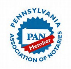 Notary Public, PAN Member, Pennsylvania Association of Notaries, Pennsylvania Association of Notaries Member