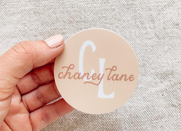 Chaney Lane Sticker