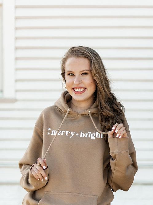 Merry + Bright Hoodie