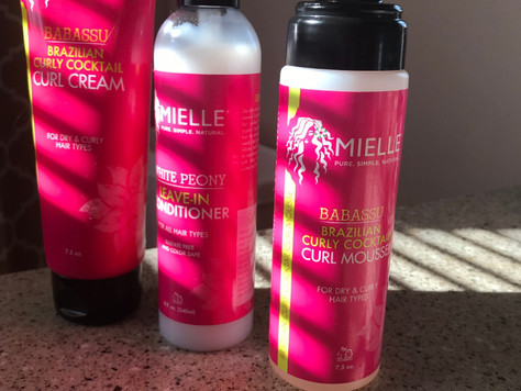Testing Mielle Hair Products