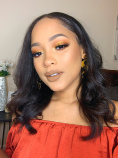 Holiday Makeup & Hair Look 2019