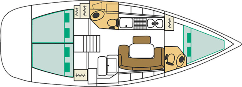 Frances Anne - deck plan