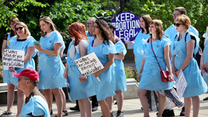 Room Full of Blue Gowns #AbortionStories