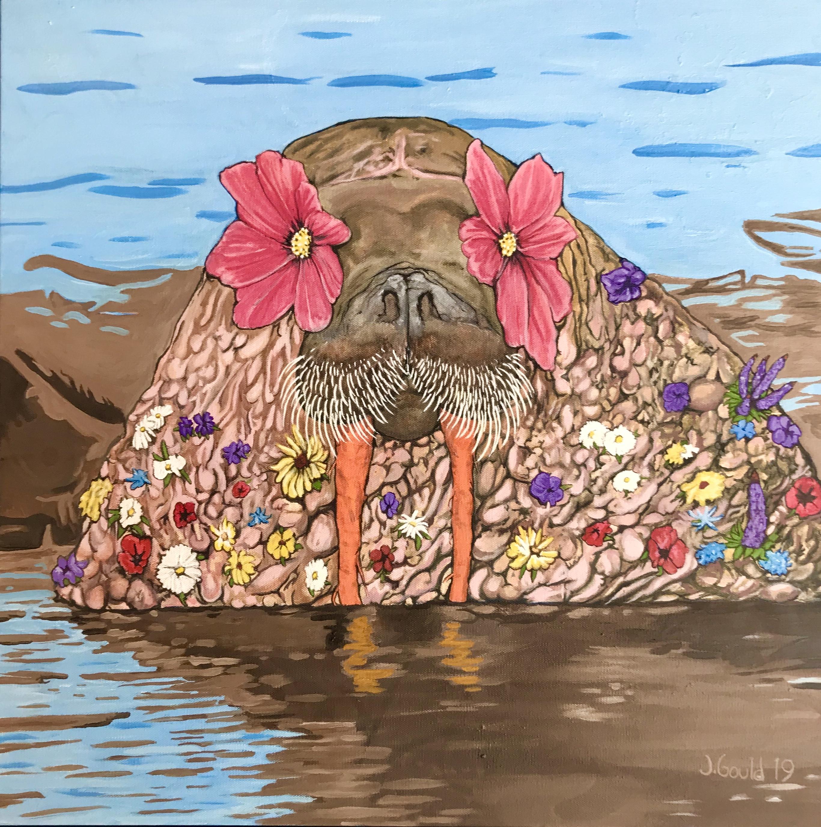 Flower Power Walrus