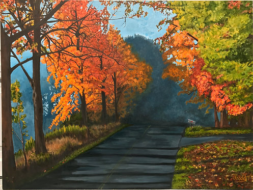 Country Road Artist proof Giclee