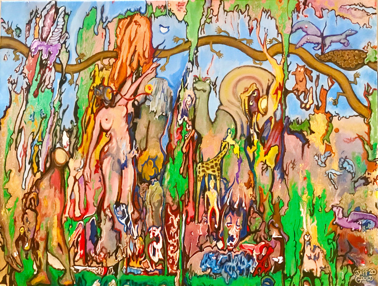 Saturday 2:37 PM in the Garden of Eden