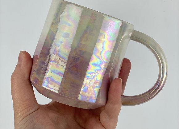 Aurora mug in pink ombre