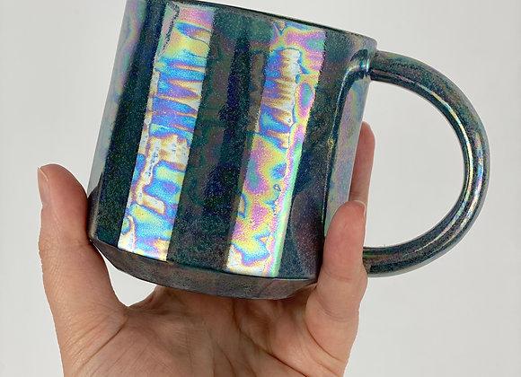 Aurora mug in teal