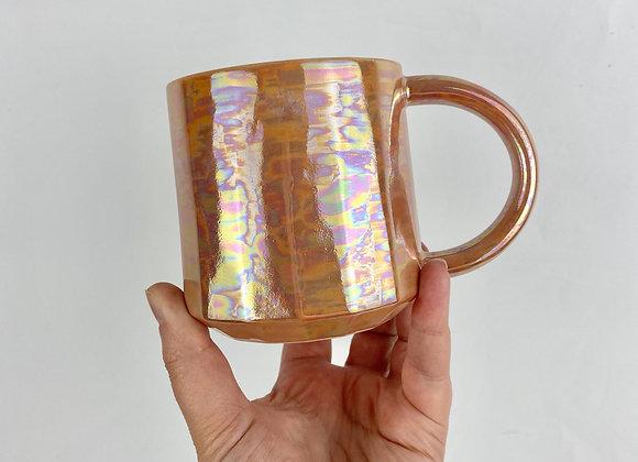 Aurora mug in peach
