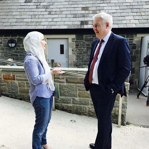 Talking to First Minister for Wales about education