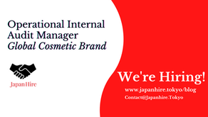 Operational Internal Audit Manager - Global Cosmetic