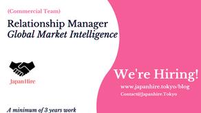 Relationship Manager - Global Market Intelligence