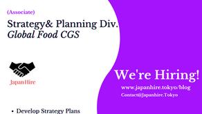 Strategy& Planning Associate - Global Food FMCG