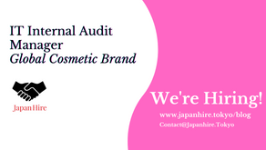 IT Internal Audit Manager - Global Cosmetic