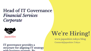 Head of IT Governance - Financial Services Corporate