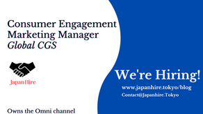 Consumer Engagement Marketing Manager - Global CGS