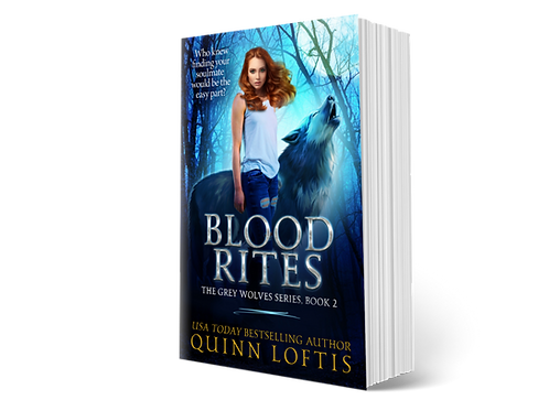 Blood Rites, Book 2 of the Grey Wolves Series