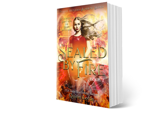 Sealed by Fire, Book 2 of the Nature Hunters Academy Series