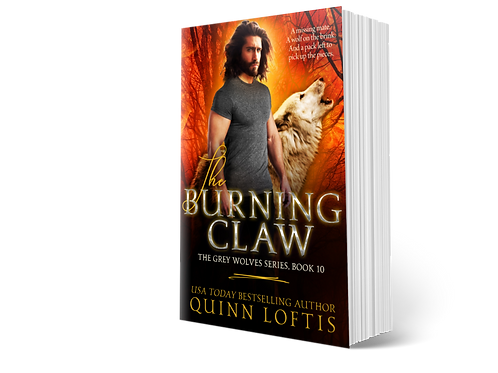 The Burning Claw, Book 10 of the Grey Wolves Series