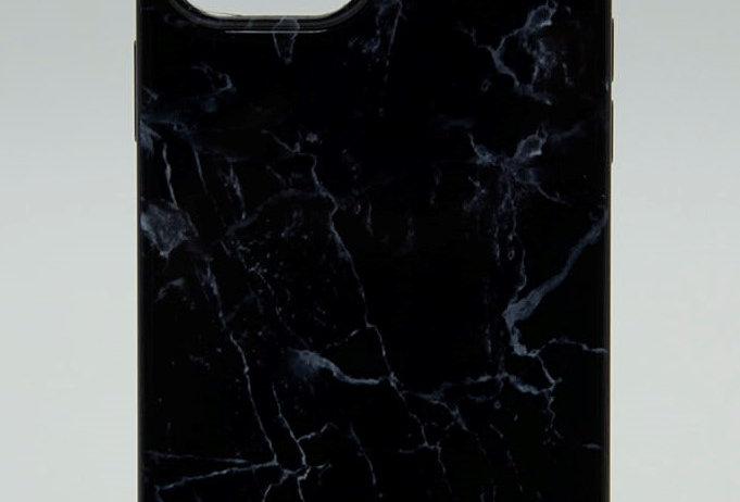 Чехол Guess для iPhone 12Mini с принтом под мрамор