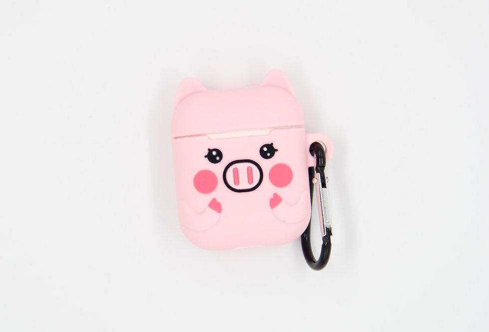 Чехол на AirPods (Piggie)