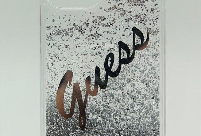 Чехол - переливашка Guess для iPhone 12/12Pro