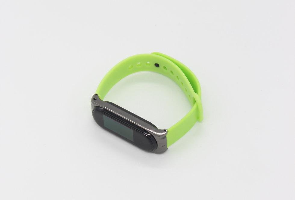Карбоновый ремешок для Xiaomi Mi Band 3, 4 (Carbon)