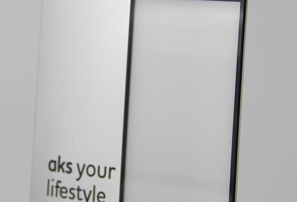 Защитное стекло aks! 3D для iPhone 7, iPhone 8