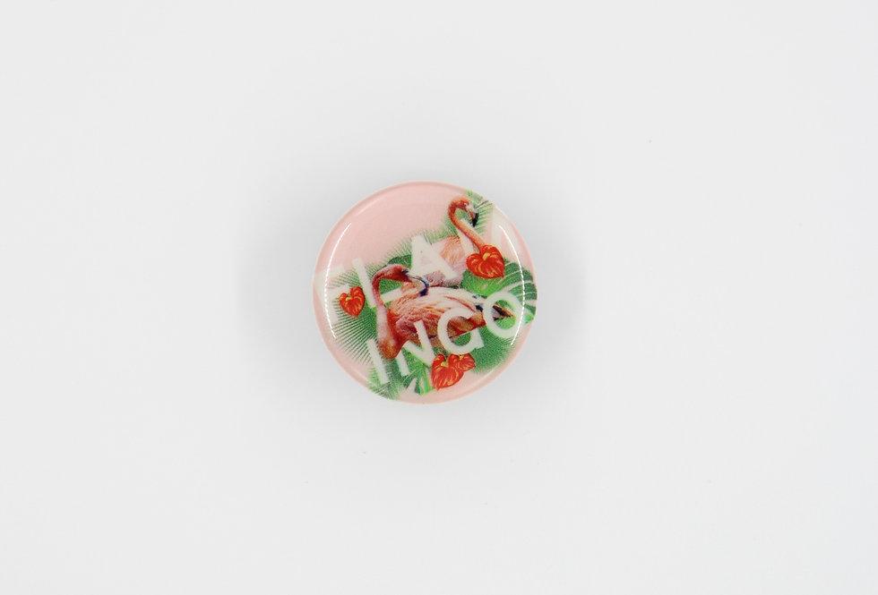 Попсокет Розовый фламинго #20